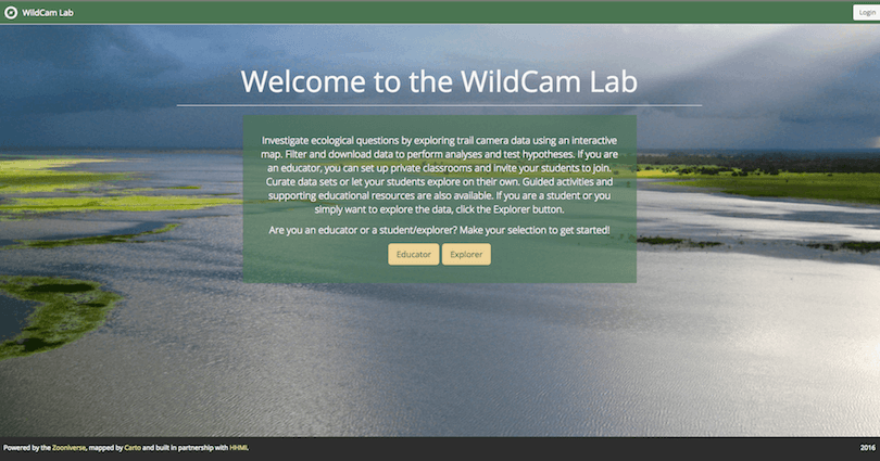 Wildcam Gorongosa Lab